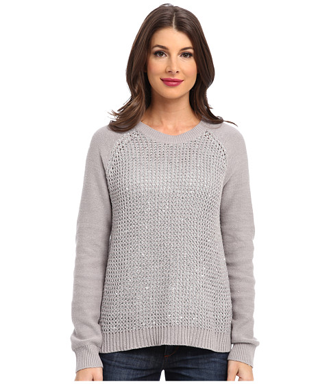 NYDJ - Key Item Sequin Sweater (Dove) Women's Sweater