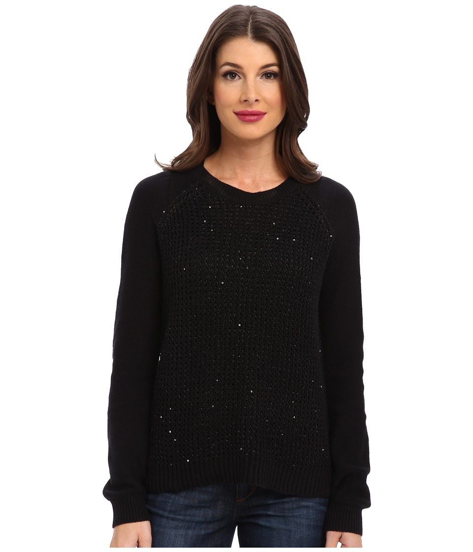 NYDJ - Key Item Sequin Sweater (Black) Women's Sweater