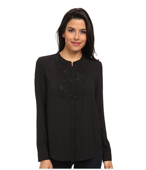 NYDJ - Embellished Blouse (Black) Women