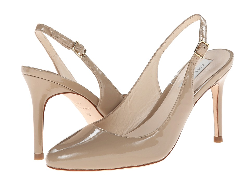 Cole Haan - Bethany Sling 85 (Maple Sugar Patent) High Heels
