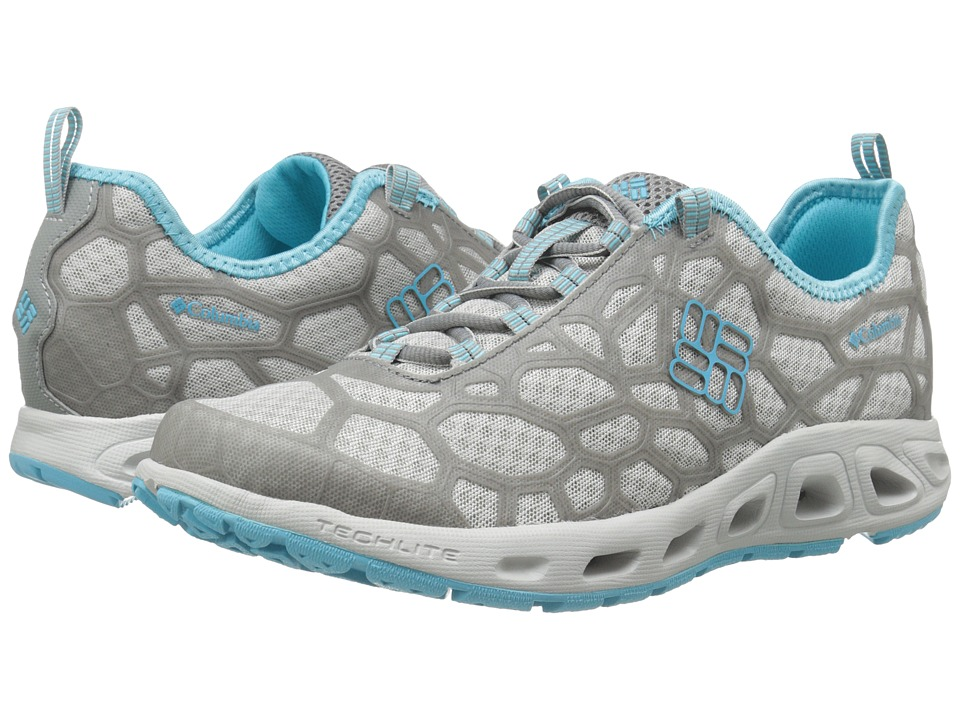 Columbia - Megavent (Oyster/Opal Blue) Women's Shoes