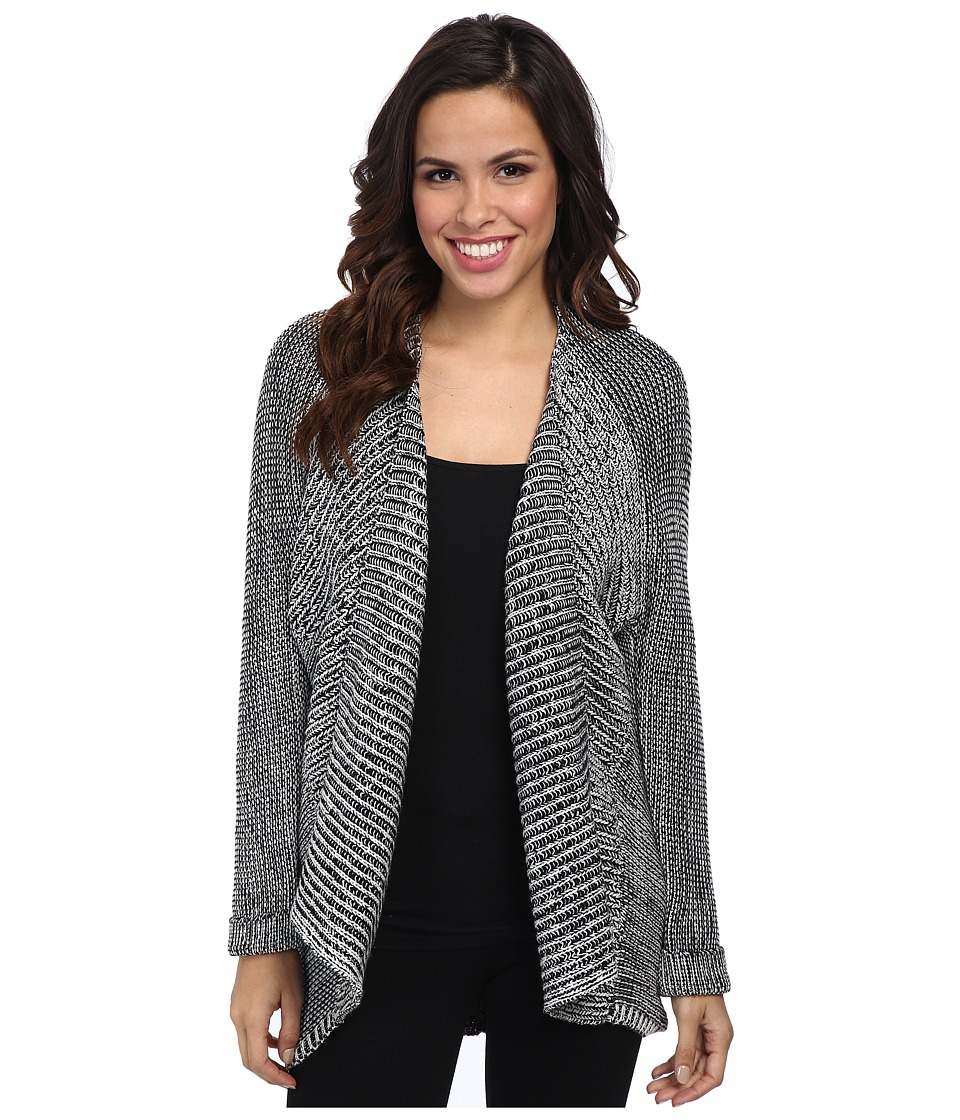 NYDJ - Cocoon Cardigan (Black Multi) Women's Sweater