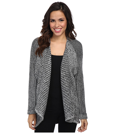 NYDJ - Cocoon Cardigan (Black Multi) Women