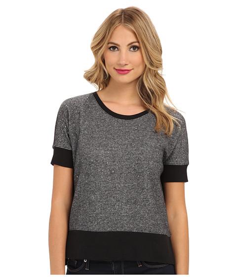 DKNY Jeans - Rhinestone East and West Sweatshirt (Grindle) Women