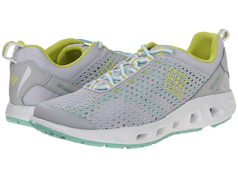 Columbia - Drainmaker III (Cool Grey/Fresh Kiwi) Women
