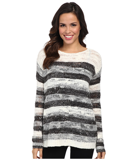 NYDJ - Drop Needle Space Dye (Vanilla) Women's Sweater
