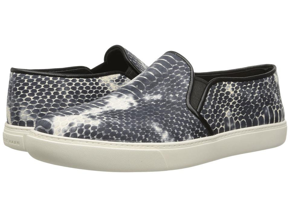 Cole Haan Bowie Slipon Sneaker (Black/Vanilla Snake Print) Women