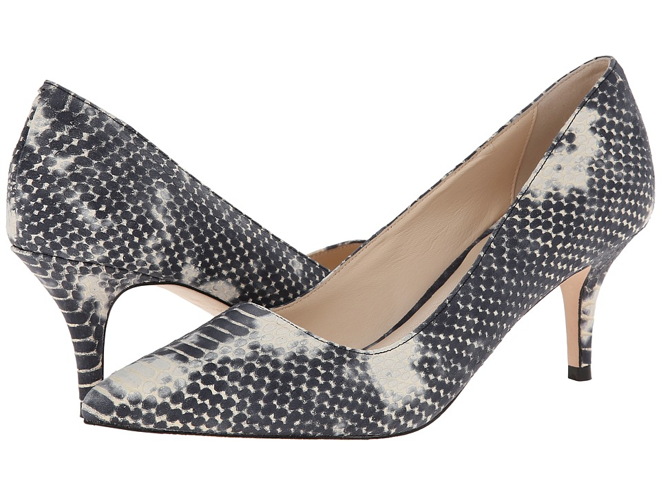 Cole Haan - Bradshaw Pump 65 (Black/White Snake Print) High Heels