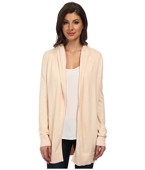 NYDJ - Hooded Cardigan (Champagne/Sugar) Women's Sweater