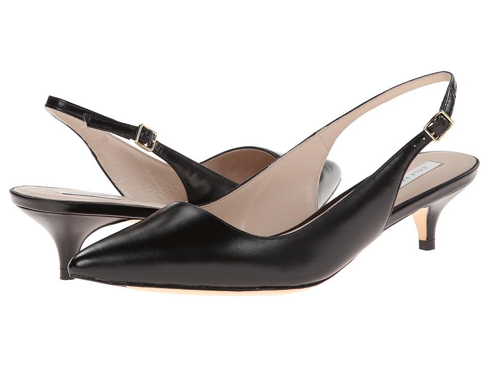 Cole Haan - Bradshaw Sling 40 (Black) Women's 1-2 inch heel Shoes