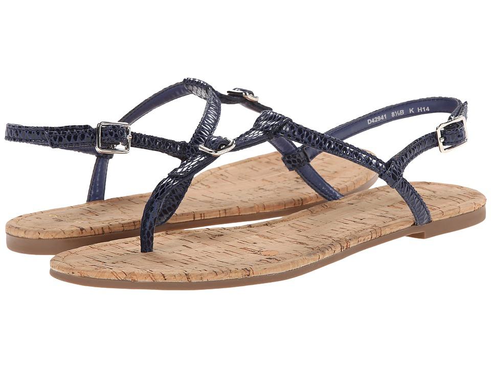Cole Haan - Britt Sandal (Washed Indigo Python Print/Cord) Women's Sandals