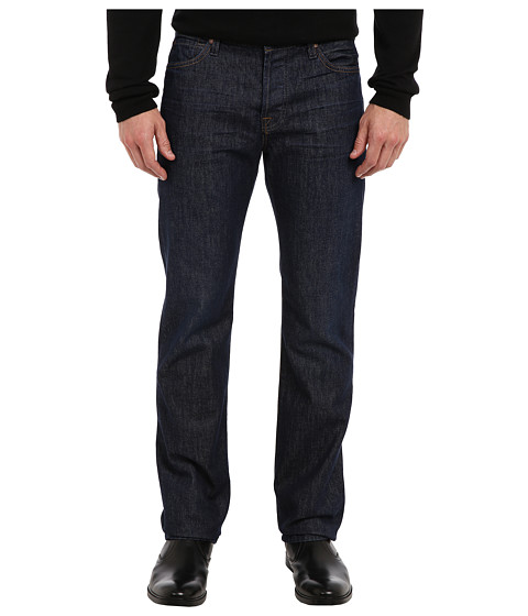 7 For All Mankind - Standard Straight w/ Clean Pocket in Autumn Sunset (Autumn Sunset) Men