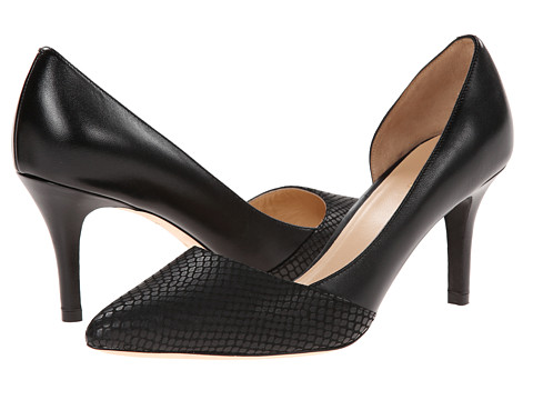 Cole Haan - Highline Pump (Black Matte Snake Print/Black) High Heels