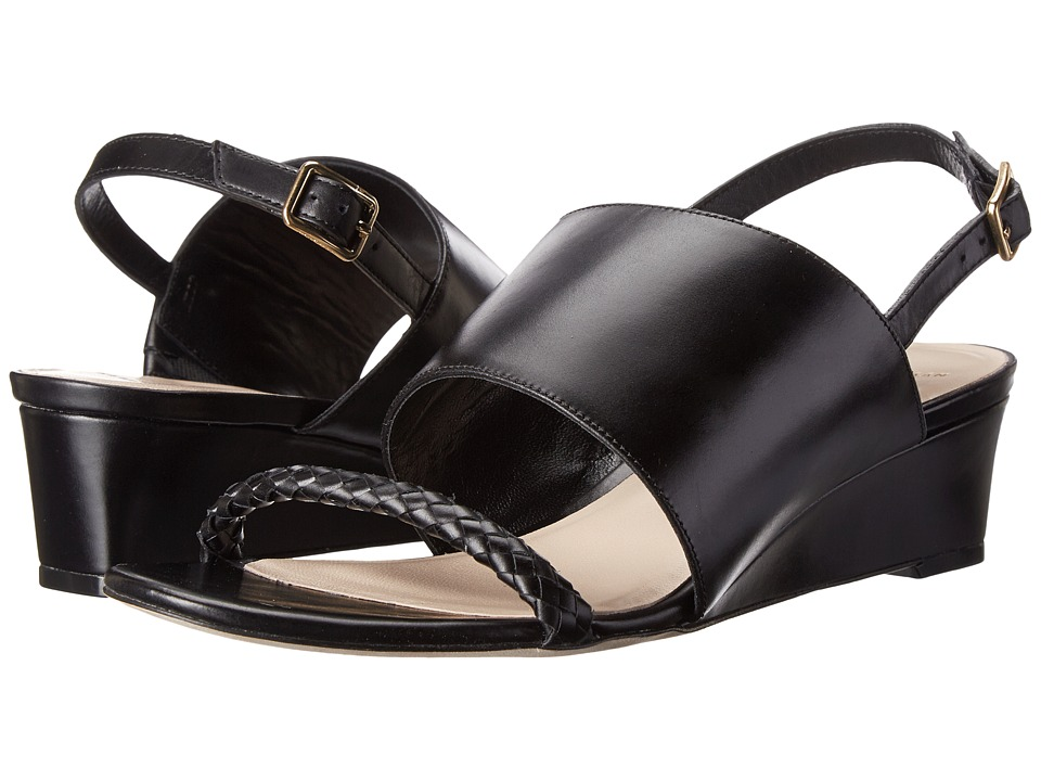Cole Haan - Lise Wedge (Black) Women's Wedge Shoes