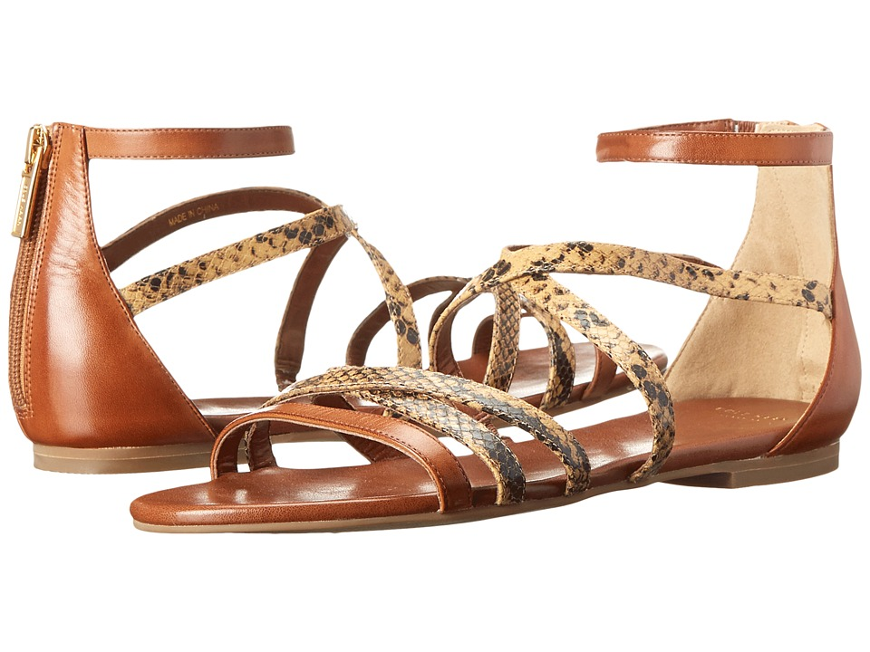 Cole Haan - Mercer Sandal (Pecan/Sand Sahara Snake Print) Women's Sandals