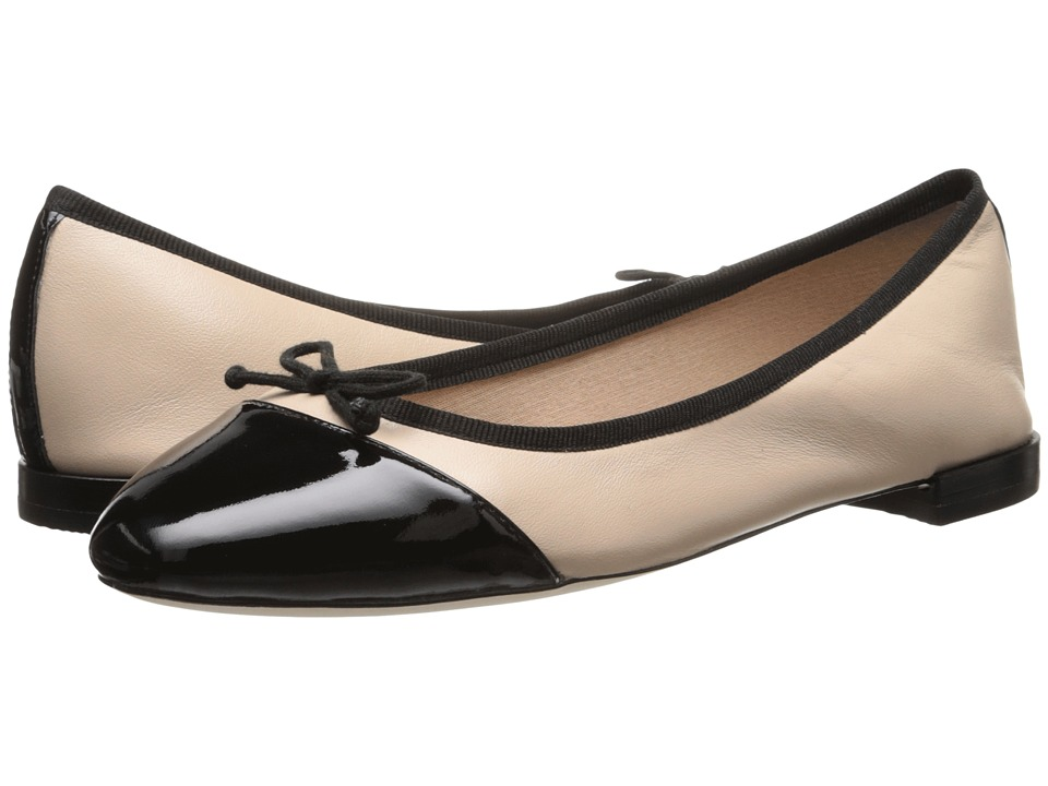 Cole Haan - Sarina Ballet (Froth/Black Patent) Women's Flat Shoes