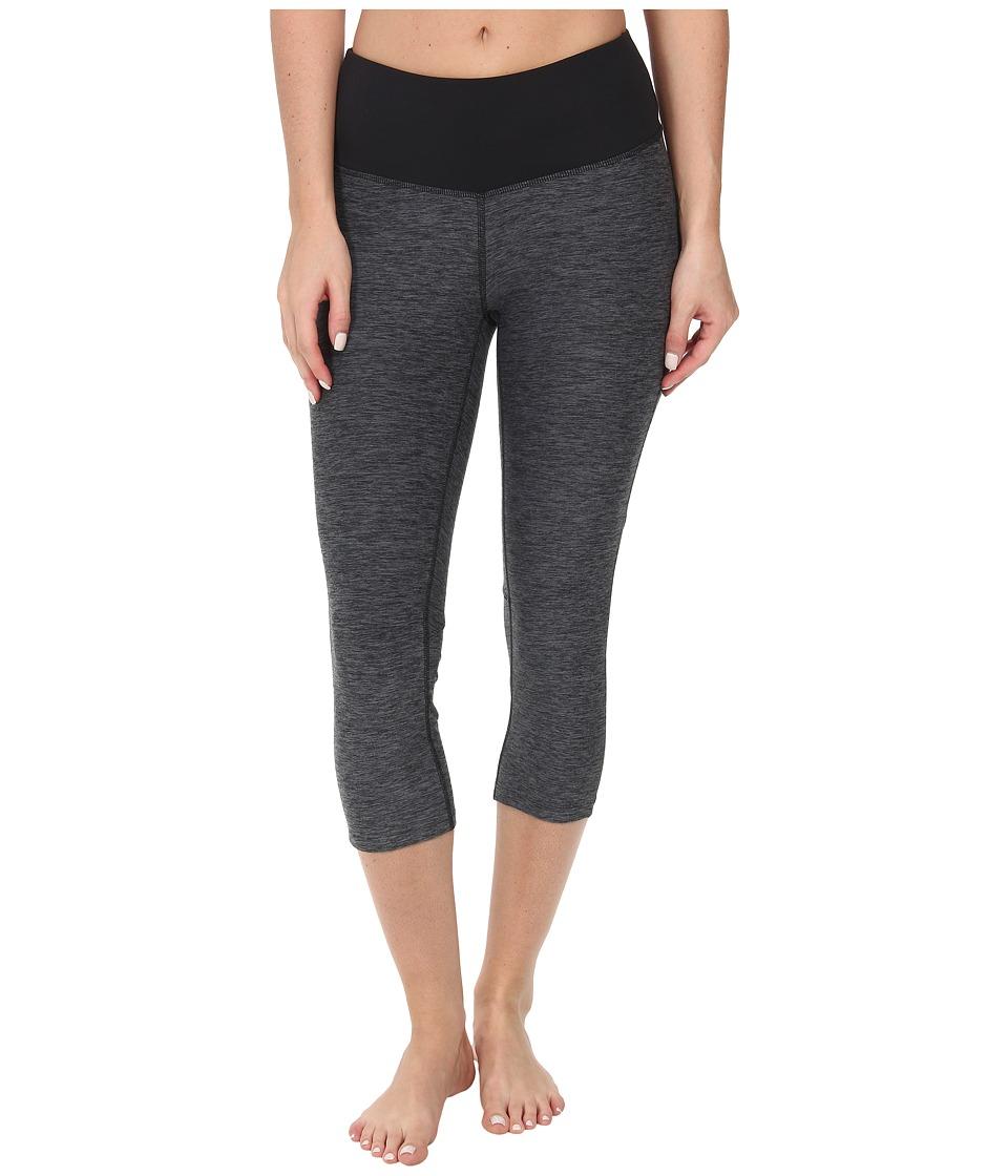 New Balance - Melange Crush Capri (Black/Grey) Women's Capri