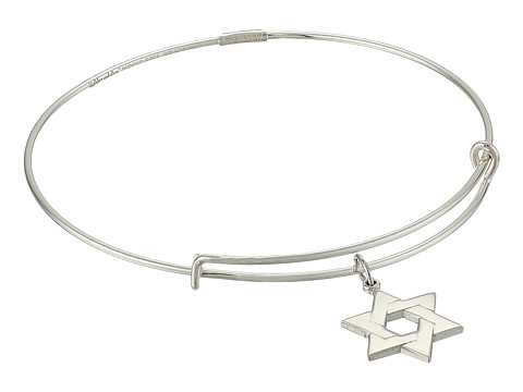 Alex and Ani - Precious Star of David Large Bracelet (Silver) Bracelet