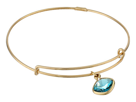 Alex and Ani - Precious Indicolite Harmony Charm Bangle (Gold/Blue) Bracelet
