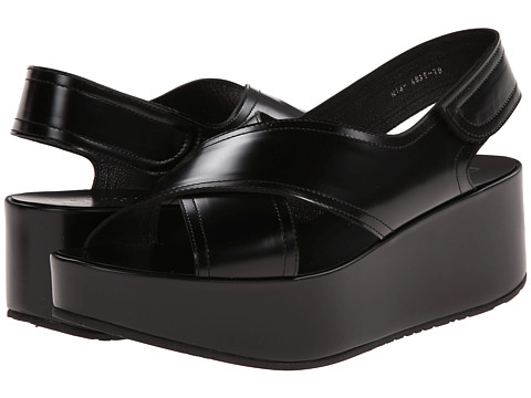 Pedro Garcia - Nira (Black Bakelite Calf) Women's Shoes
