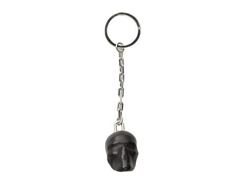 Alexander McQueen - Oversize Skull Key Ring (Black) Wallet