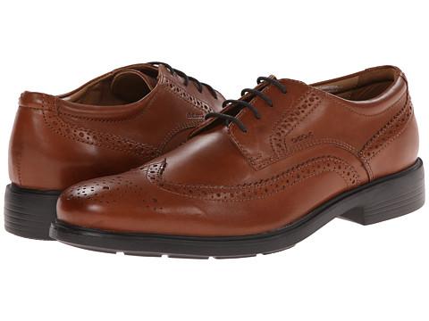 Geox - U Dublin 4 (Light Cognac) Men's Lace up casual Shoes