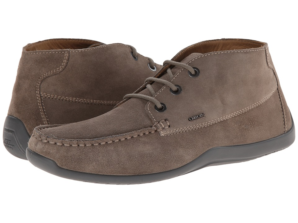 Geox - U Xense Mox 1 (Dove Grey) Men's Lace up casual Shoes
