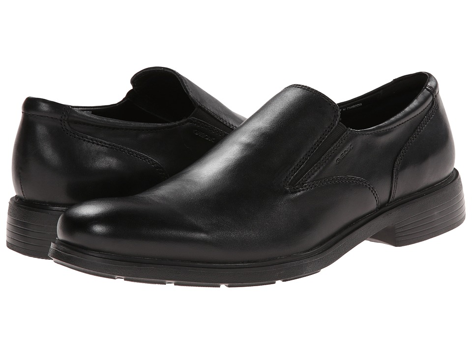 Geox - U Dublin 7 (Black) Men's Slip on Shoes
