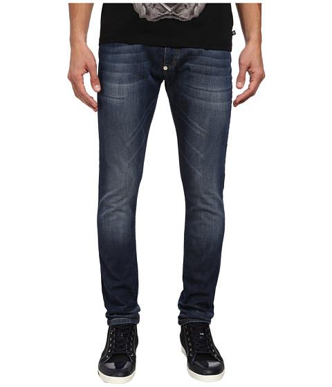Philipp Plein - Slim Fit The Flash Jean (Beluga Blue) Men