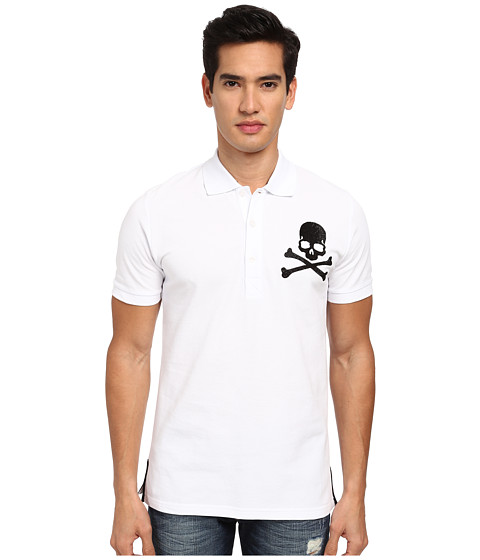 Philipp Plein - Next Year Polo (White) Men