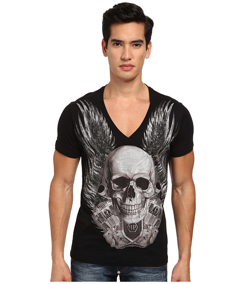 Philipp Plein - So Sublime T-Shirt (Black) Men's T Shirt