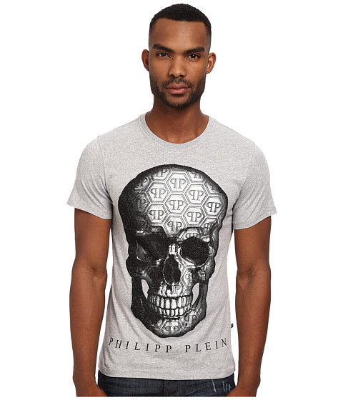 Philipp Plein - Weekend T-Shirt (Grey) Men's T Shirt