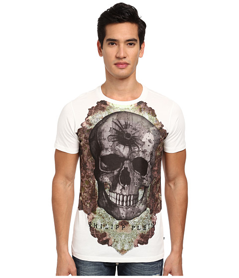 Philipp Plein - To Fly T-Shirt (White) Men's T Shirt
