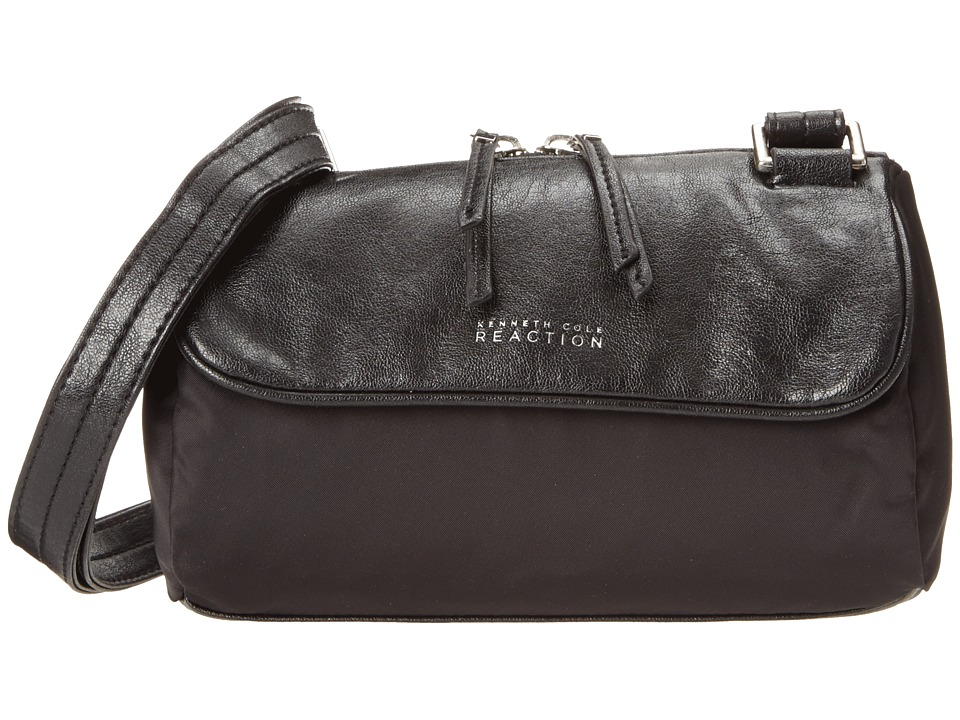 Kenneth Cole Reaction - Strap Hanger Crossbody (Black/Black) Cross Body Handbags