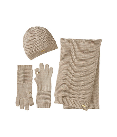 UPC 888738717182 product image for Calvin Klein Waffle Hat Glove Scarf Set  ... 371f13ad02e
