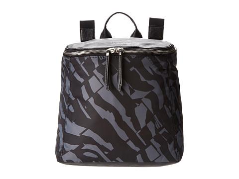 Kenneth Cole Reaction - Strap Hanger Backpack (Black Grey/Black) Backpack Bags