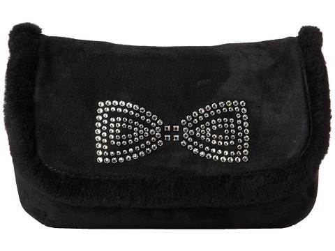 UGG - Allloway Crystal Bow Clutch (Black) Clutch Handbags