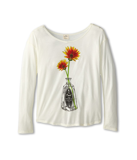 O'Neill Kids - Flower Potion L/S Tee (Big Kids) (Naked) Girl's T Shirt