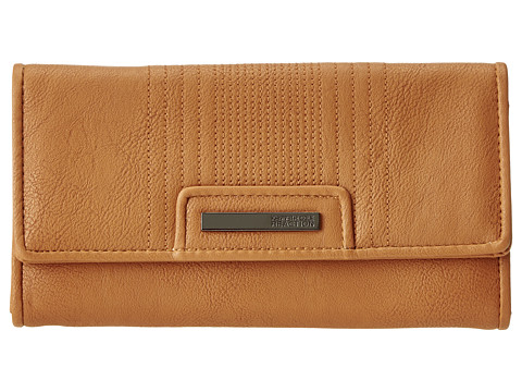 Kenneth Cole Reaction - Never Let Go Trifold Flap Clutch (Clay) Clutch Handbags