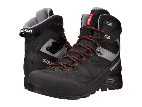 Salomon - X Alp Mtn GTX (Black/Asphalt/Quick) Men