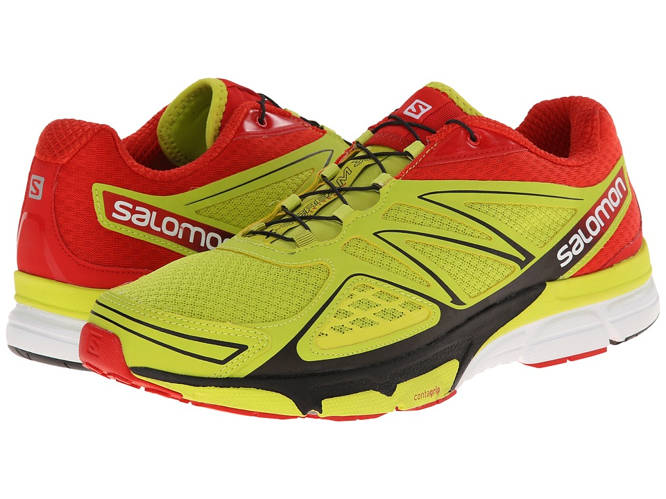Salomon X-Scream 3D (Gecko Green/Bright Red/Black) Men