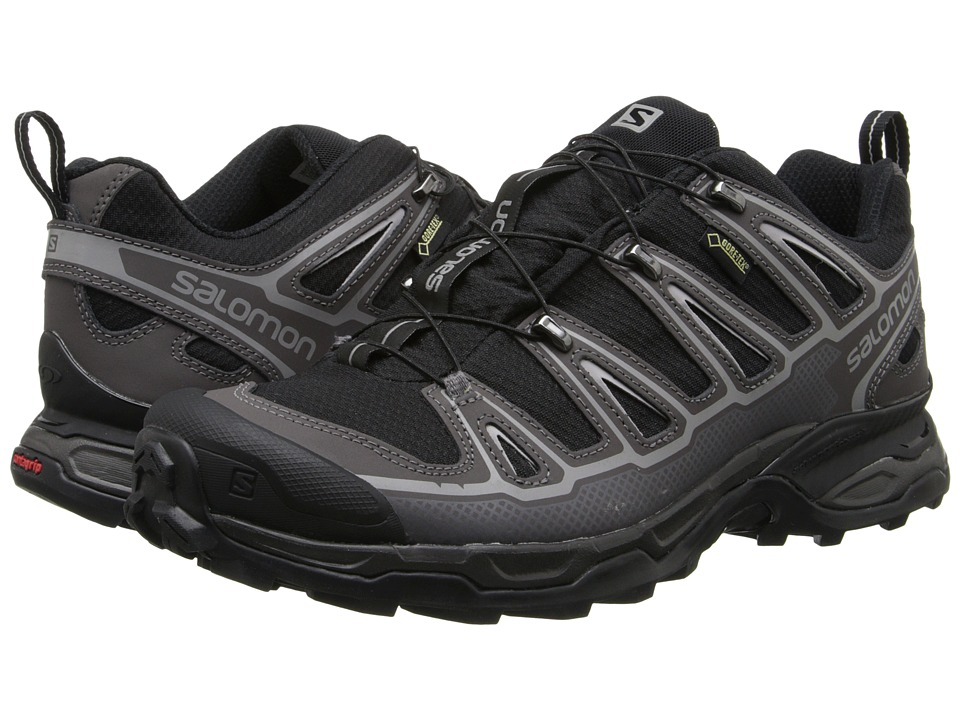 Salomon - X Ultra 2 GTX (Black/Autobahn/Aluminium) Men's Shoes
