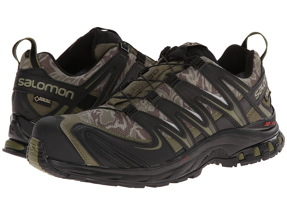 Salomon - XA PRO 3D GTX (Camo Dark Khaki/Black/Iguana Green) Men