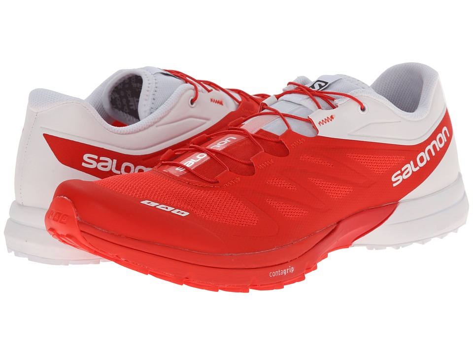 Salomon - S-Lab Sense 4 Ultra (Racing Red/White/Racing Red) Athletic Shoes