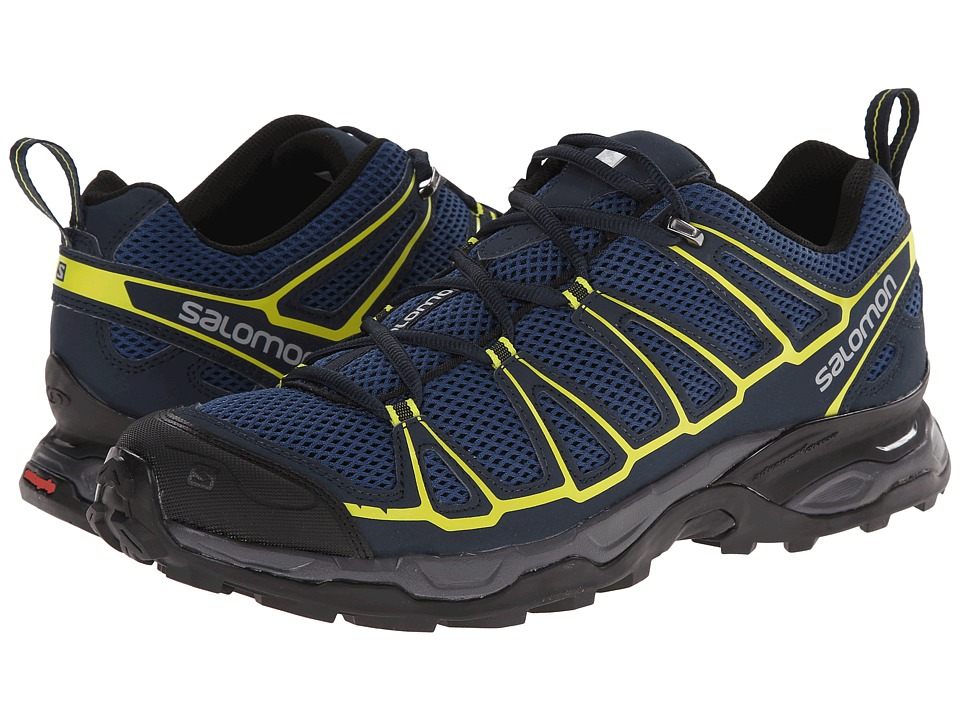 Salomon - X Ultra Prime (Fjord/Deep Blue/Gecko Green) Men's Shoes