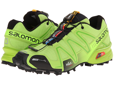 Salomon - Speedcross 3 CS (Granny Green/Granny Green/Black) Men's Shoes