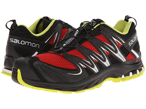 Salomon - XA Pro 3D (Quick/Black/Gecko Green) Men's Shoes