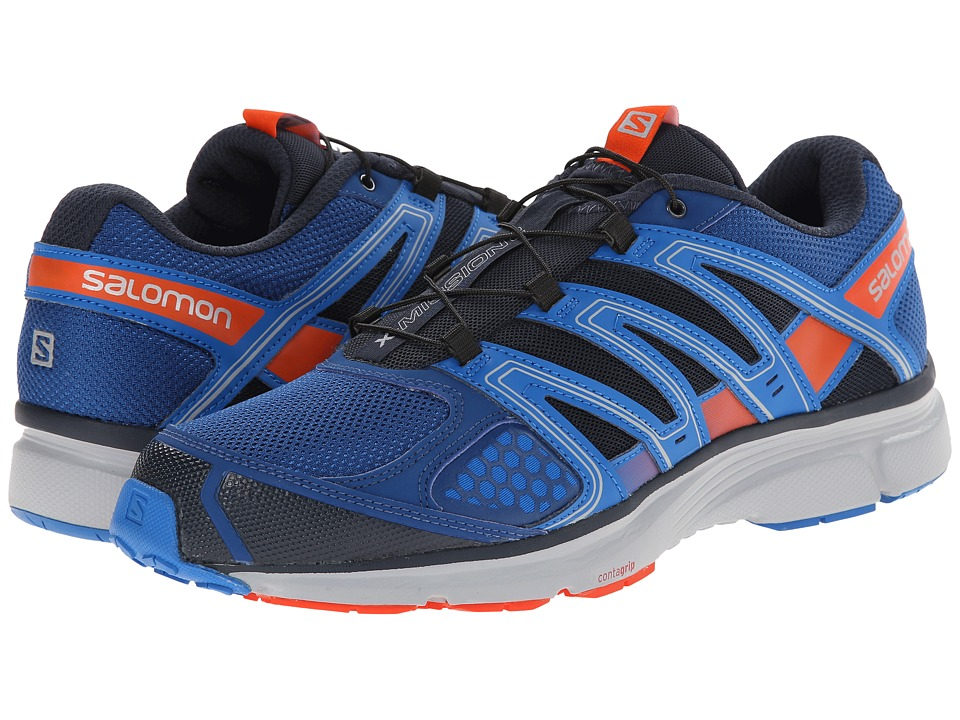 Salomon - X-Mission 2 (Gentiane/Union Blue/Tomato Red) Men's Shoes