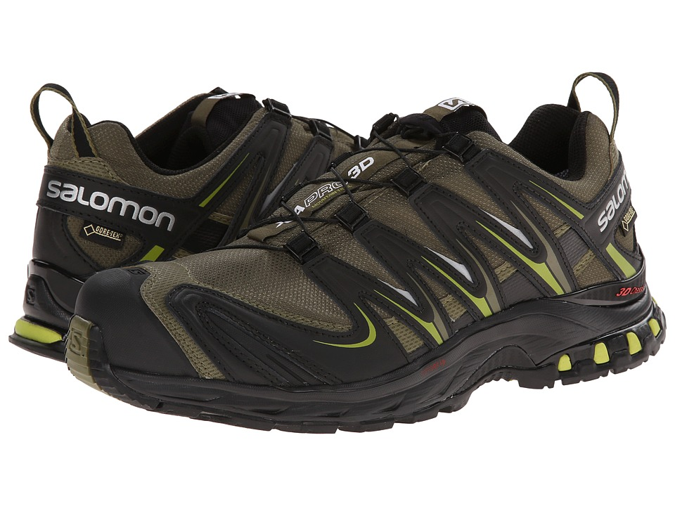 Salomon - XA PRO 3D GTX (Iguana Green/Black/Seaweed Green) Men's Shoes