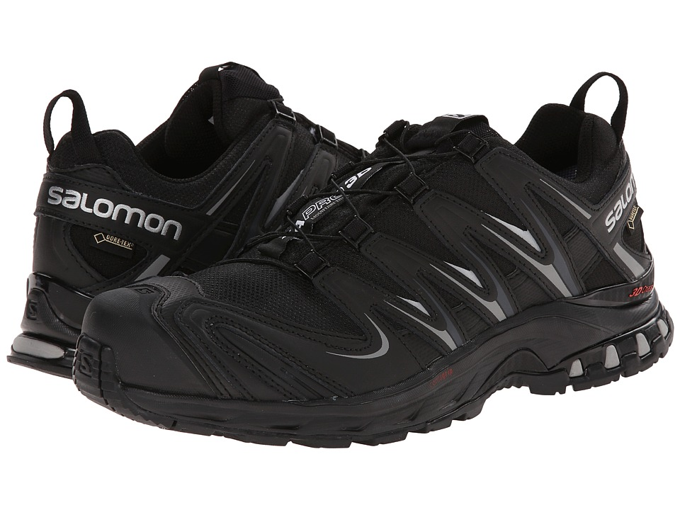 Salomon - XA PRO 3D GTX (Black/Black/Pewter) Men's Shoes